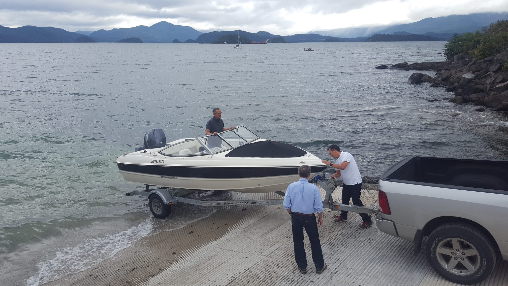 how to build a boat launch ramp